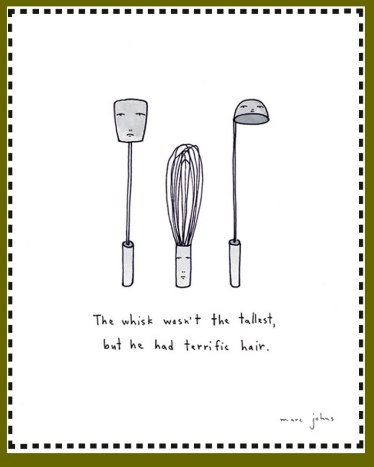 the whisk wasn't the tallest art by marc johns