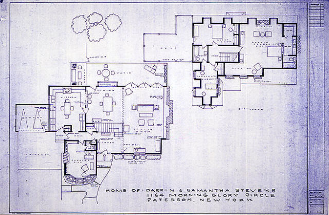 Wordless Wednesday Floor Plans Of Television And Movie
