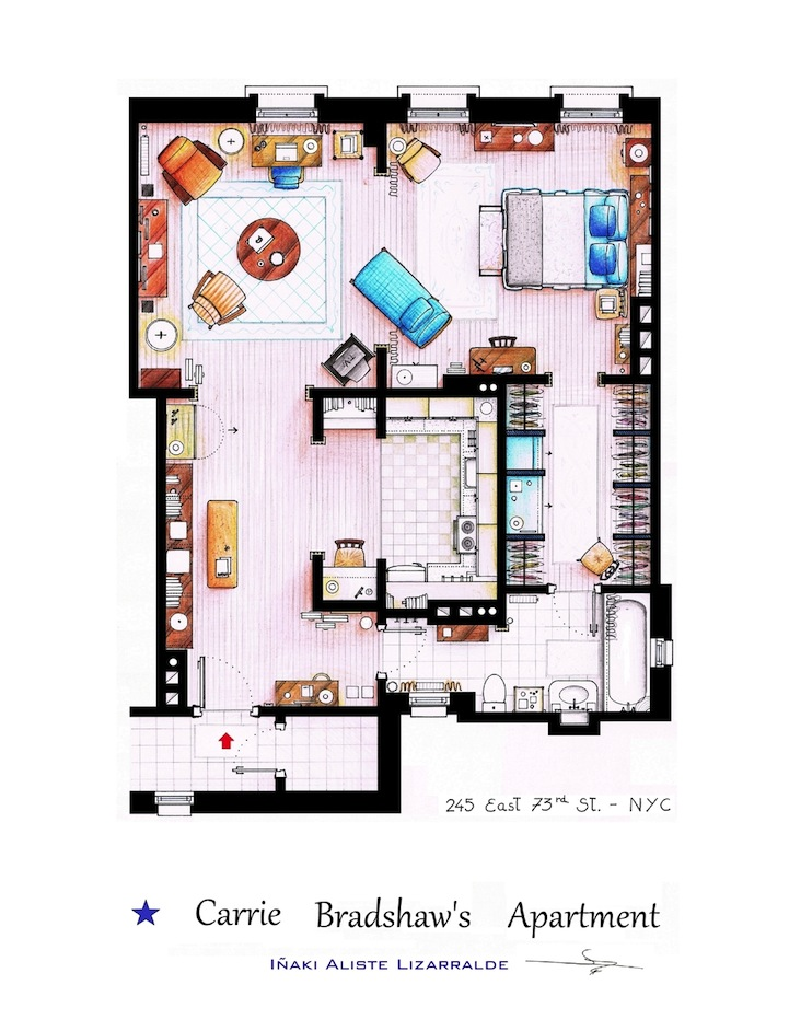 Wordless Wednesday  Floor Plans of Television and Movie Homes    Wordless Wednesday  Floor Plans of Television and Movie Homes
