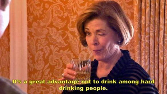 Great-Gatsby-Arrested-Development-Mash-Up-Lucille-Drinking