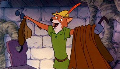 Walt Disney's Robin Hook aka The Fox