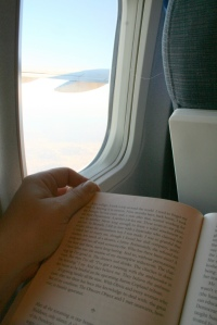 reading-on-a-plane