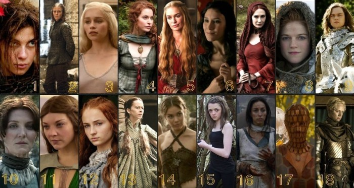 women game of thrones