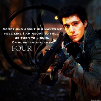 Four (Tobias Eaton), dauntless instructor.
