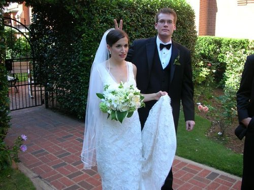 Wordless Wednesday: More Writers on their Wedding Day ...
