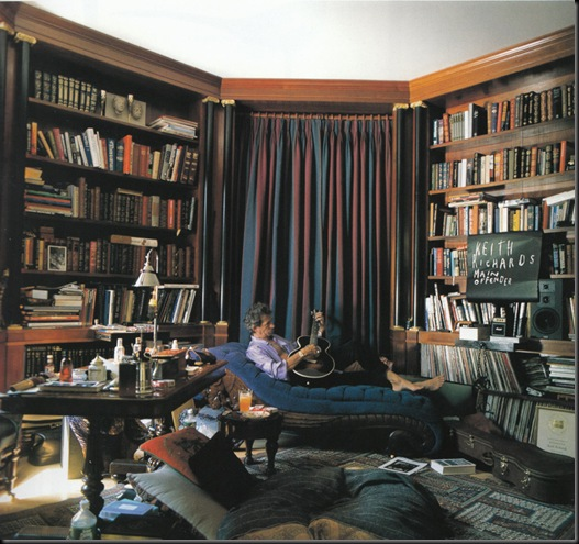 Keith Richards's Library