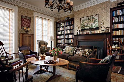 Woody Allen's Library