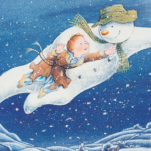 The Snowman, by Raymond Briggs