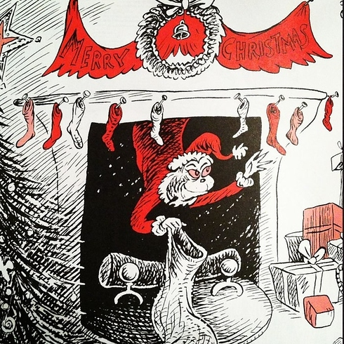 How the Grinch Stole Christmas, by Dr. Seuss