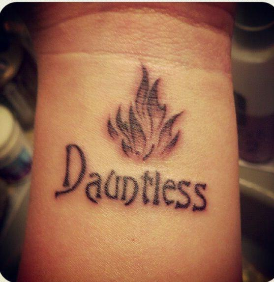 wordless wednesday divergent tattoos hardcovers and