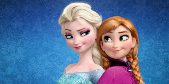 Frozen-sisters
