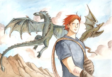 Charlie Weasley: Studies dragons in Romania (not really in films so hard to find a photo of him)