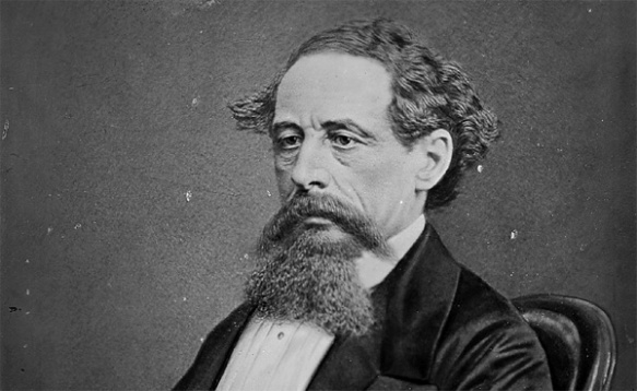 Charles Dickens author of Oliver Twist, Bleak House, A Tale of Two Cities, & Great Expectations