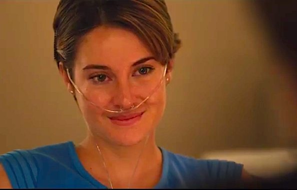 "Hazel Grace Lancaster: ""I fell in love the way you fall asleep: slowly, and then all at once."""