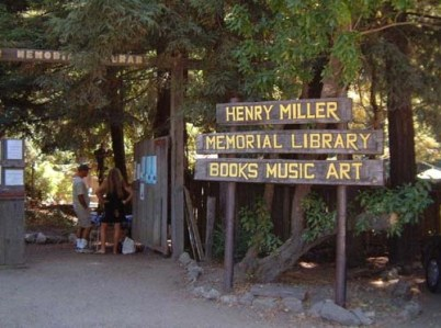 60-Henry_Miller_Memorial_Library_PCH_Sign