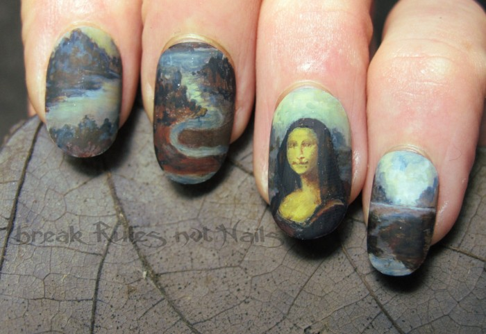 Leonardo da Vinci Manicure