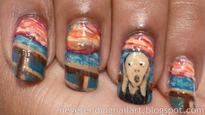 Edvard Munch Manicure