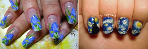 Van Gogh Manicure
