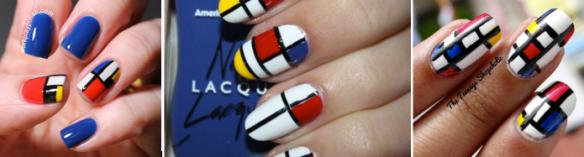 Mondrian Manicure