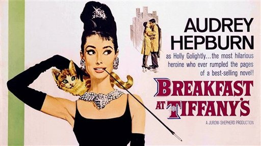 Breakfast at Tiffany's, based on the book by Truman Capote