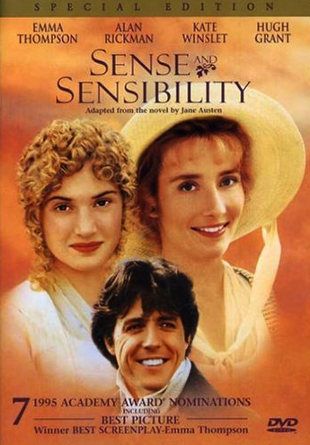 Sense and Sensibility, based on the book by Jane Austen