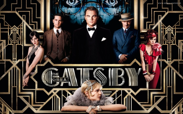 The Great Gatsby, based on the book by F. Scott Fitzgerald