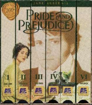 Pride and Prejudice, based on the book by Jane Austen