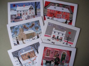 Writers' Houses Holiday Cards